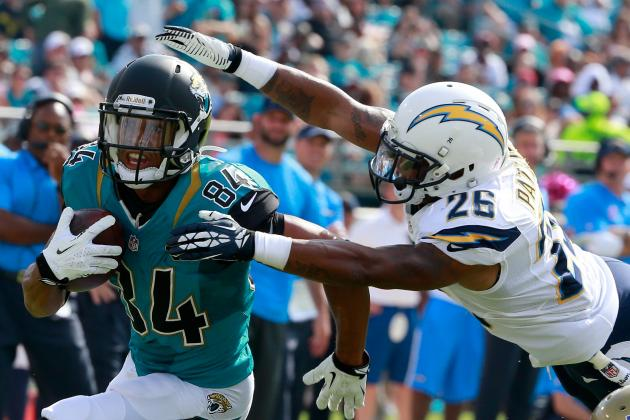 Painful Day for Jaguars WRs Cecil Shorts, Justin Blackmon