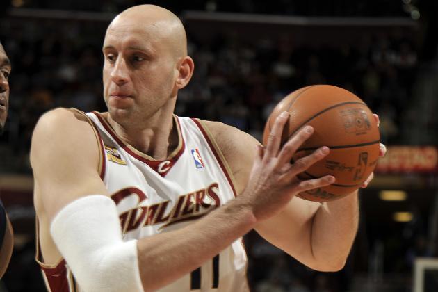 Cleveland Cavaliers to Retire Zydrunas Ilgauskas' Jersey