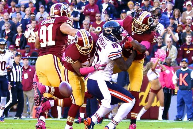 Brandon Meriweather Suspension over NFL's League Safety Policy Reduced to 1 Game