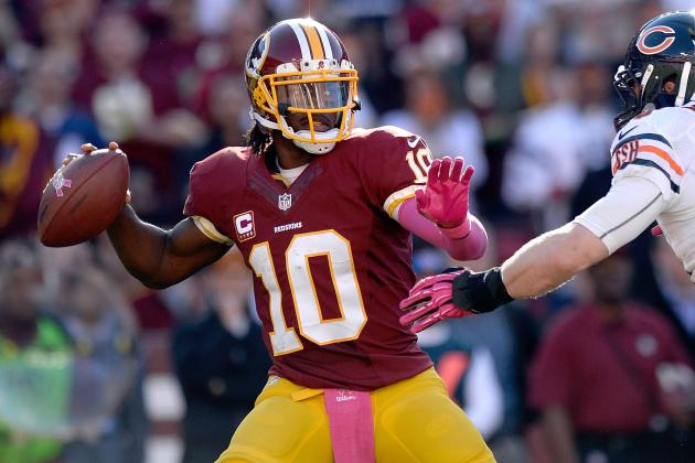 Robert Griffin III's Fantasy Stock Soaring Heading into 2nd Half of Season