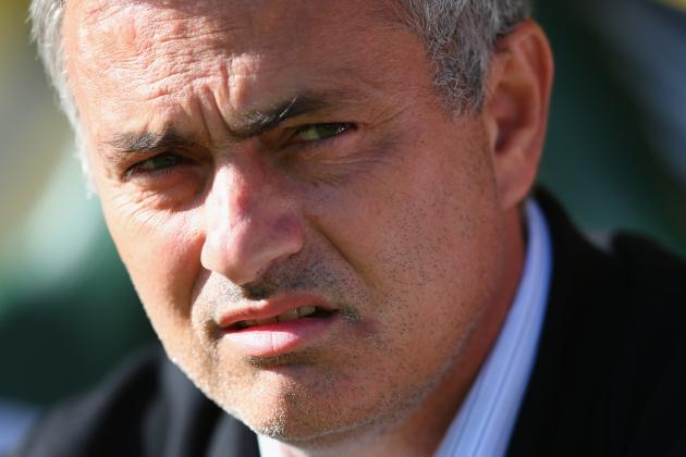 Jose Mourinho Charged with Improper Conduct After Being Sent off vs. Cardiff