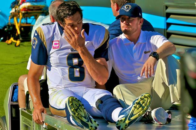 What Loss of Sam Bradford Means for Rams' Season, Future