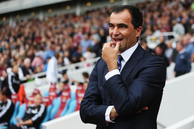 Comparing Roberto Martinez's Everton Start with David Moyes' Last Season