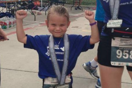 6-Year-Old Girl Runs Half-Marathon in Under 3 Hours