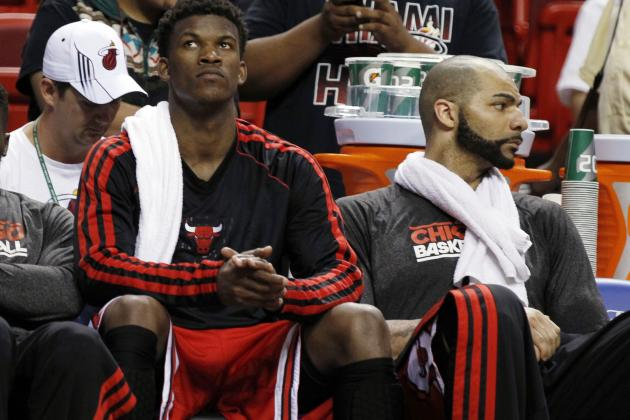Injury Setback Keeps Bulls' Butler on Sideline