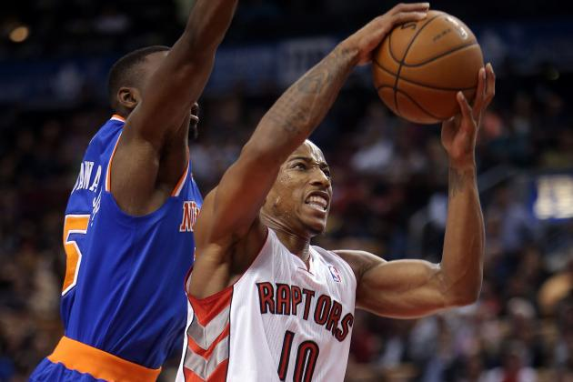Raptors Beat Knicks 123-120 in Double OT