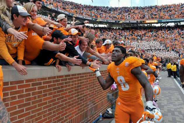 Tennessee Football: Marquez North Is SEC's Next Great WR