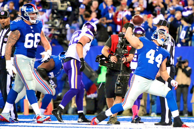 Vikings vs. Giants: Live Score, Highlights and Reaction