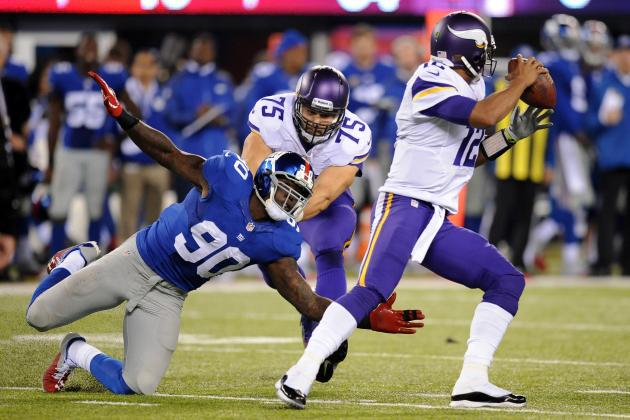 New York Giants vs. Minnesota Vikings: Live Grades and Analysis for Minnesota