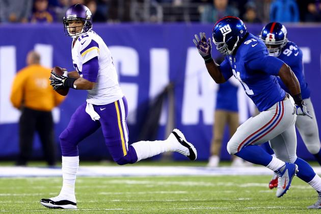 Giants' Run Defense Showing Signs of Life, but Pass Rush Still Slacking