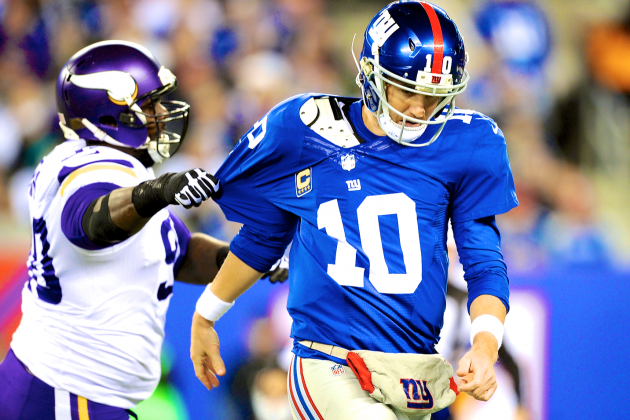 Don't Get Your Hopes Up on the Giants: They're Still a Terrible Football Team