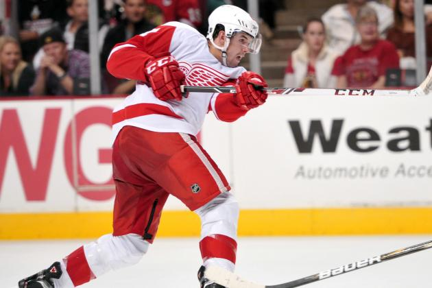 Xavier Ouellet Impressive in NHL Debut for Detroit Red Wings vs. NHL's Top Team