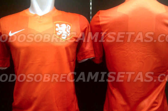 Holland Home Shirt for World Cup 2014 Revealed: Leaked