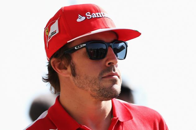 Fernando Alonso Reveals Points Record Helmet for Indian GP; Not a Real Record