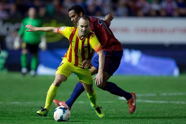 Andres Iniesta Set to Sign Five-Year Contract Extension at Barcelona