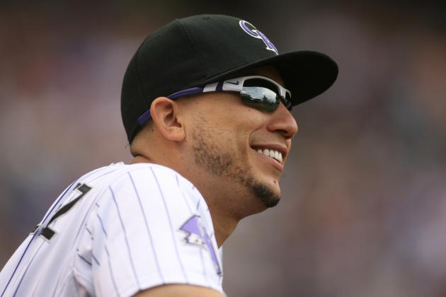 Colorado Rockies May Move Carlos Gonzalez to Center Field