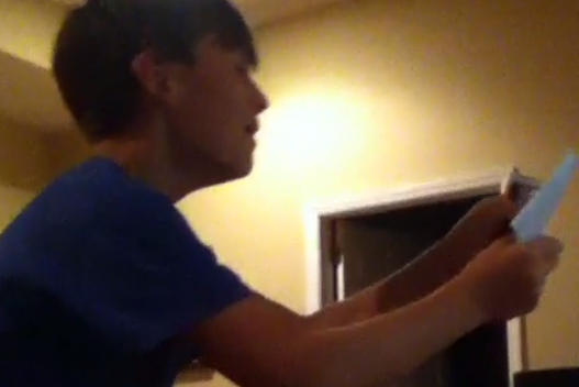Video: Young Fan Goes Crazy After Receiving Iron Bowl Tickets as Gift
