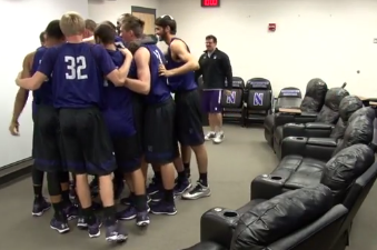 Video: Northwestern Walk-on Given Scholarship