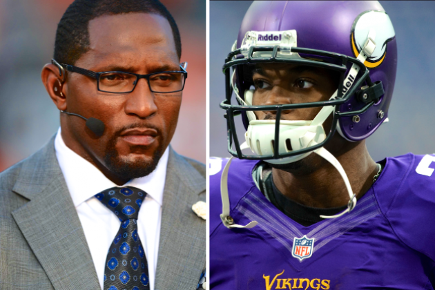 Ray Lewis Thinks Adrian Peterson Might Pull a Barry Sanders and Retire Early