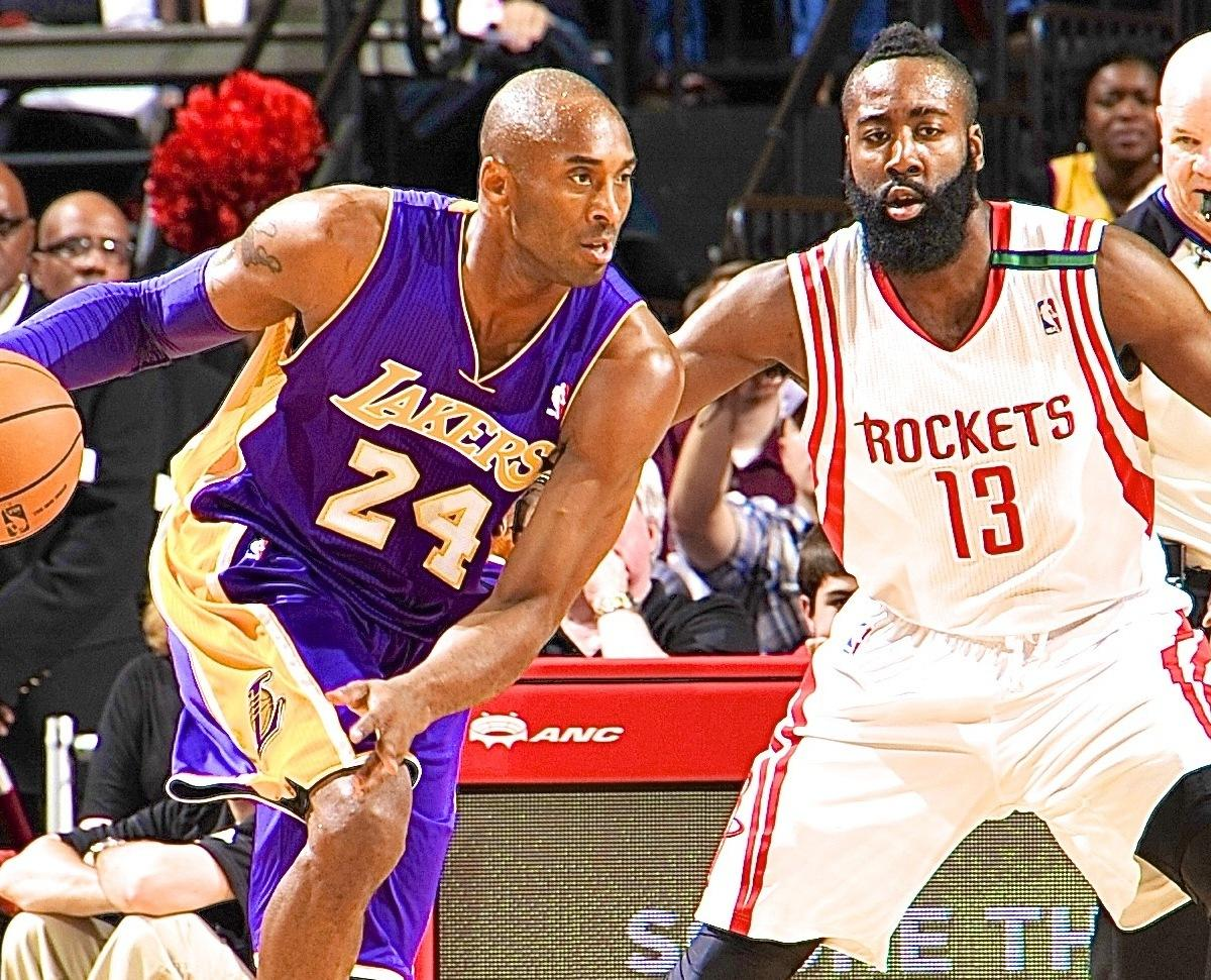 NBA General Managers Pick James Harden over Kobe Bryant as ...