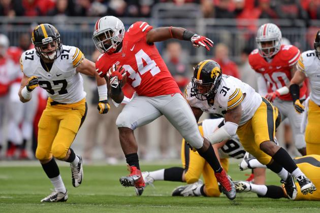 Carlos Hyde Has Kept Ohio State Undefeated the Last 3 Games