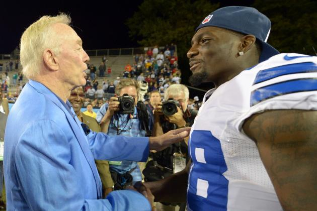 Jerry Jones: Bryant Can Aspire to Be 'Megatron'