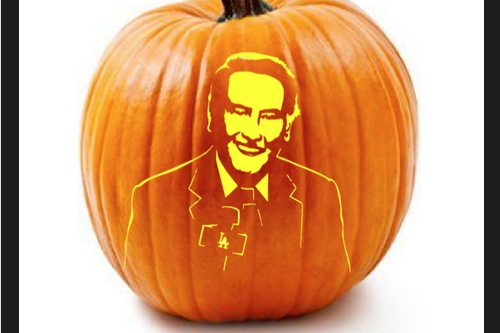 Now You Can Carve Vin Scully's Face into a Pumpkin