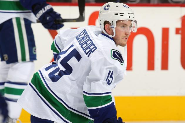 'There's Discomfort There': Canucks' Schroeder Sent Back to Vancouver