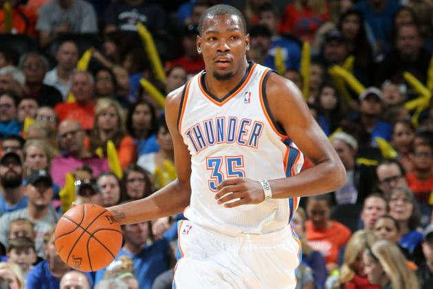 NBA GMs Would Take Kevin Durant over Kobe Bryant for Last Shot
