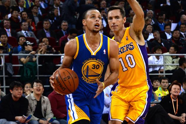 Stephen Curry Says He Shaped His Game After Steve Nash and Reggie Miller