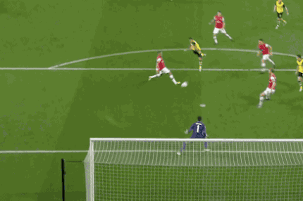 GIF: Henrik Mkhitaryan Scores for Borussia Dortmund Against Arsenal in UCL