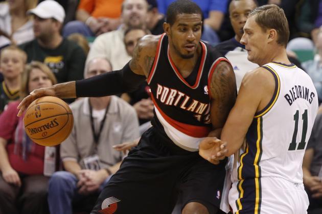 NBA GMs Vote Trail Blazers' LaMarcus Aldridge Fourth-Best (tied) Power Forward