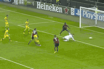 GIF: Lionel Messi Scores for Barcelona vs. AC Milan in Champions League