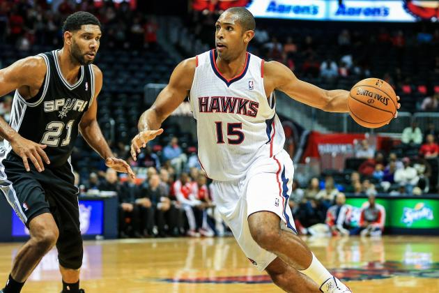Al Horford Steps to Center Stage in Atlanta