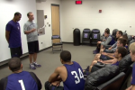 Watch: Walk-On Gets Surprise Scholarship in Front of Team