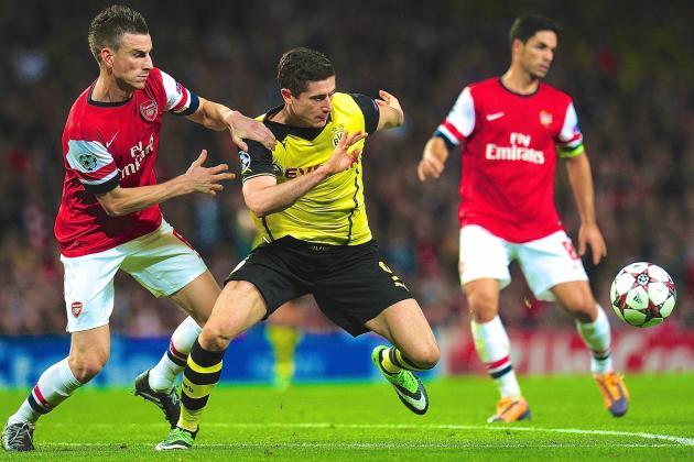 Arsenal vs. Borussia Dortmund: Live Score, Highlights, Recap