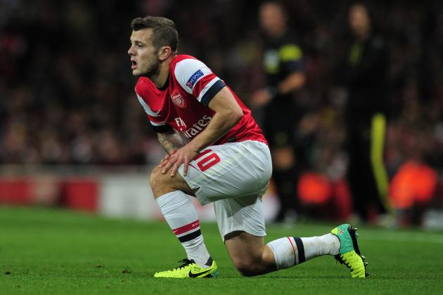 Jack Wilshere Injury: Updates on Arsenal Star's Ankle, Likely Return Date