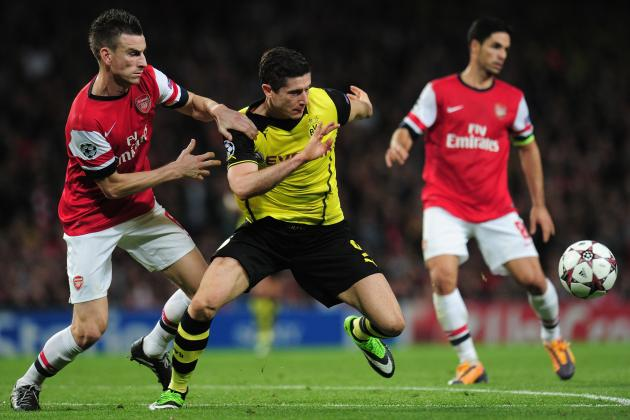 Dortmund's Robert Lewandowski Shows Arsenal What He's Capable of