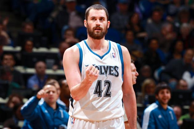 Kevin Love Comments on Winning NBA's Unofficial