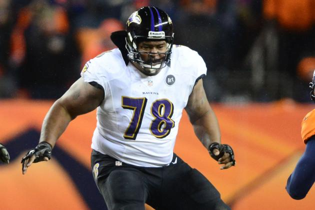 Bryant McKinnie Practices with Miami Dolphins, Could Start Sunday