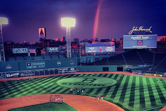 Fenway Glorious on Eve of Game 1