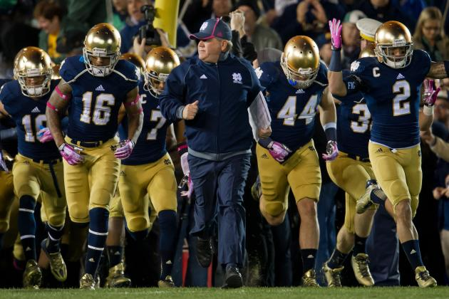 Notre Dame Football: Brian Kelly Talks Rees, Triple Option and Air Force