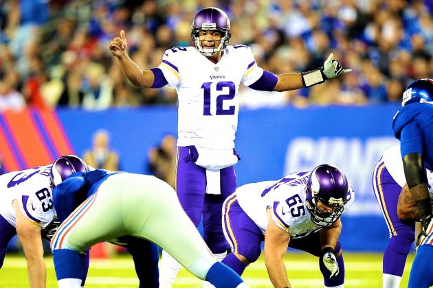Josh Freeman to Start For Vikings in Week 8 vs. Packers