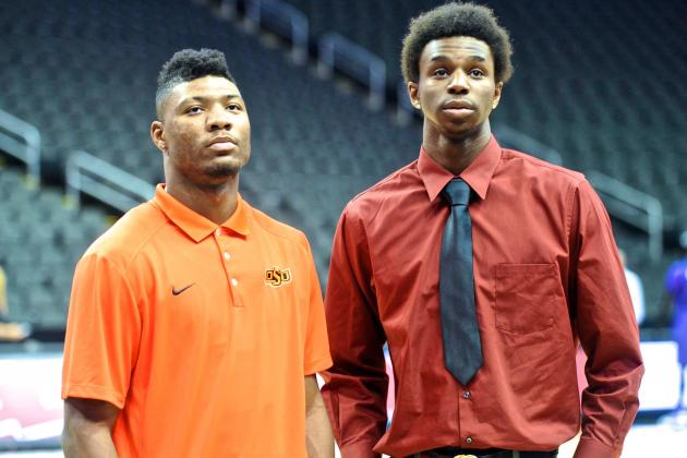 Marcus Smart Fuels Rivalry with Andrew Wiggins, Kansas at Big 12 Media Day