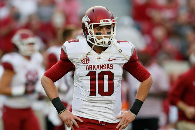 Arkansas Football: QB Brandon Allen's Struggles Continue for the Razorbacks