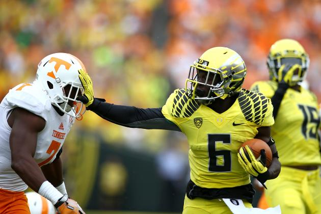 Pac-12 Football Ratings: Oregon Preparing for Most Difficult Stretch of Year