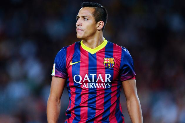 Alexis Sanchez Happy at Barcelona Amid Manchester United Transfer Reports