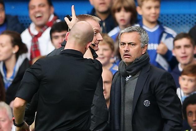 Jose Mourinho Will Accept FA Fine, Says Referee Was Right to Shut Him Up