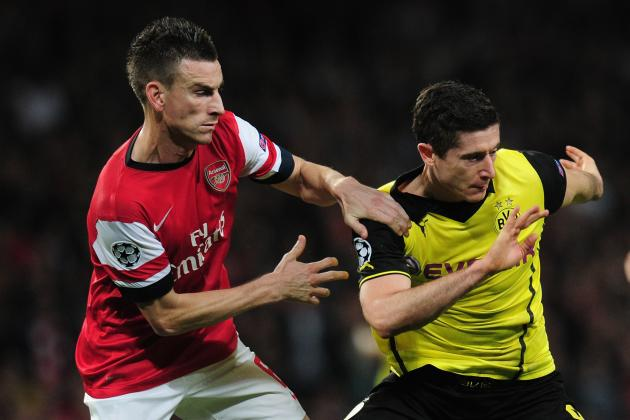 Dortmund's Robert Lewandowski Shows Arsenal What He's Capable of