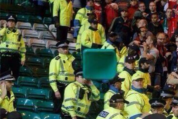 Celtic vs. Ajax Reportedly Marred by Fans Throwing Seats at Police